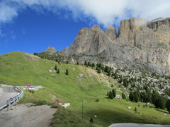 Rock Climbing Photo: Sella Towers from SW.
