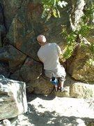 Rock Climbing Photo: Rocky Raccoon Start