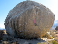 Rock Climbing Photo: This is one sweet boulder.