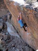 Rock Climbing Photo: Happy bouldering