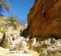 "Rock Climbing Photo: ""Don't worry it's a gri-gri!"""