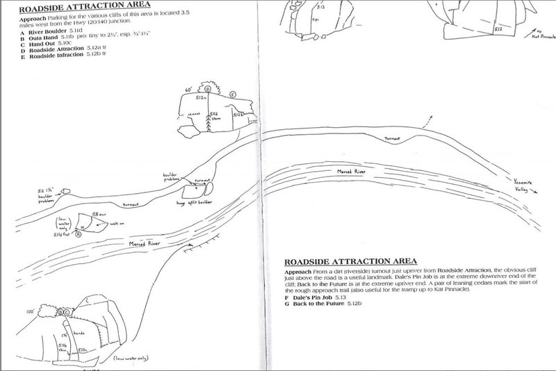Rock Climbing Photo: RiverBolder&RoadSideAtracction area in 1987 Reid g...
