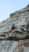 Rock Climbing Photo: Finally easing off ...