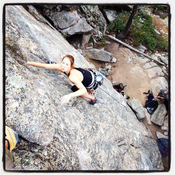 climbing at avalon