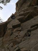 Rock Climbing Photo: Finishing Good Clean Fun.
