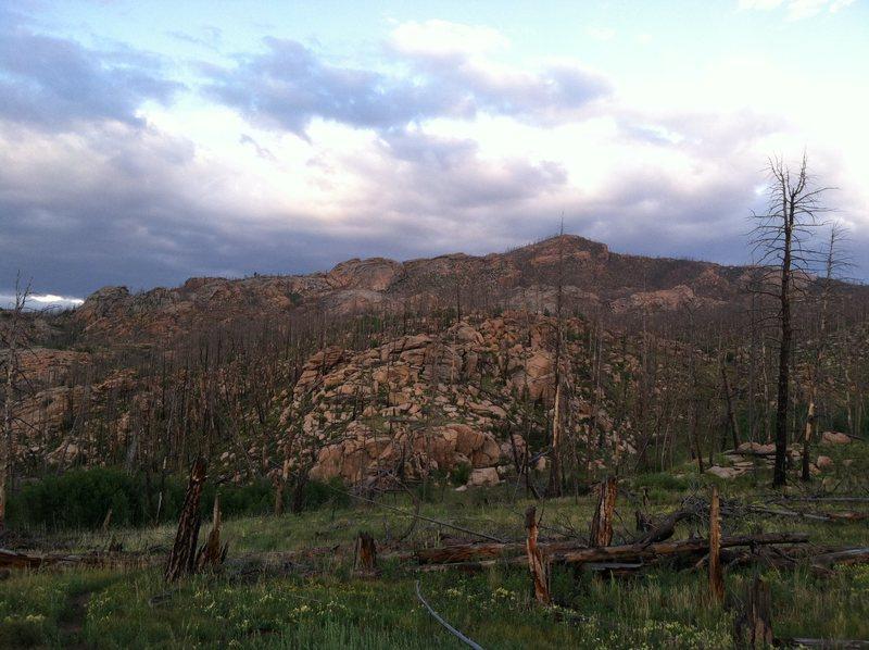 Rock Climbing Photo: Thunder Ridge.