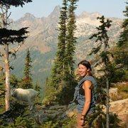 Rock Climbing Photo: approach to liberty bell, WA pass