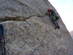 Rock Climbing Photo: Sundance Buttress, Wind River Range