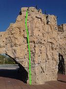 Great sunny little climb.