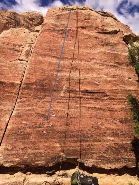 Rock Climbing Photo: Bubblicious beta.