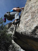 Rock Climbing Photo: Cool start