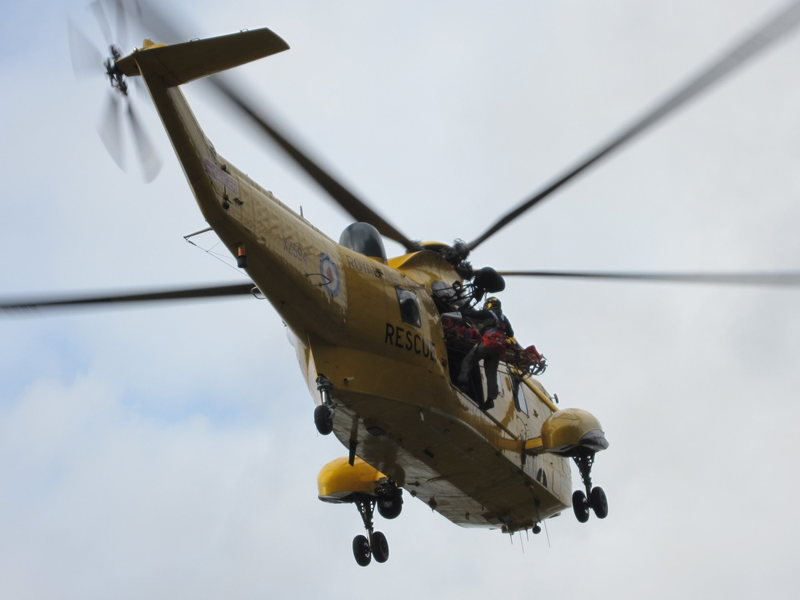 These rescues are free of any cost to the injured, as with later hospital care. The local Keswick Rescue Team  do the ground work and the Royal Air Force do the air lifts.