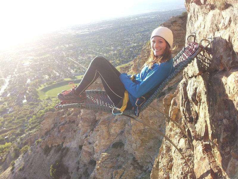 Rock Climbing Photo: Lawn Chair