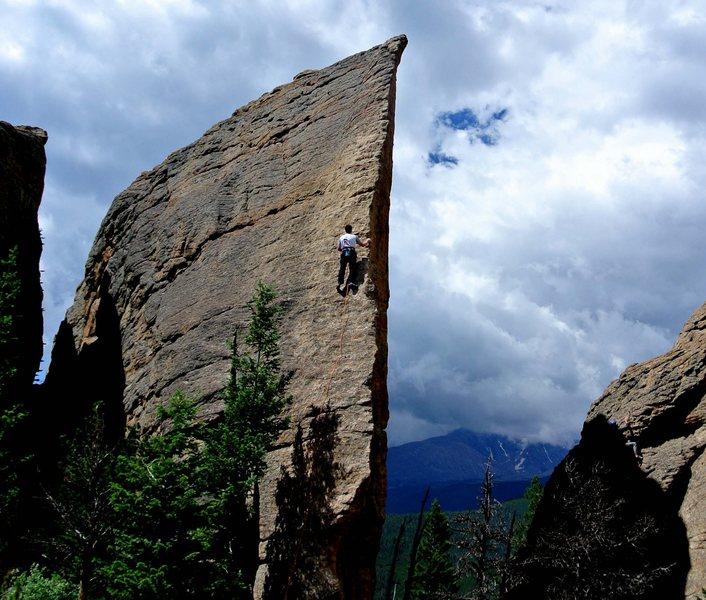 Rock Climbing Photo: Edge of Time, Jurassic Park