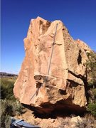 Rock Climbing Photo: Beta for Swing Man.
