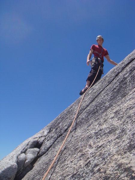 Rock Climbing Photo: Me on the Pleasure Dome, Tuolomne