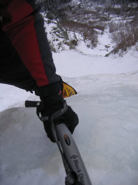 Rock Climbing Photo: Some gully in the Presidentials