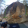 Beta photo for the south side of Ranger Station Rock #2