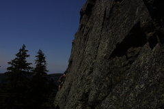 "Rock Climbing Photo: upper section of Martin's amazing line, ""Watc..."