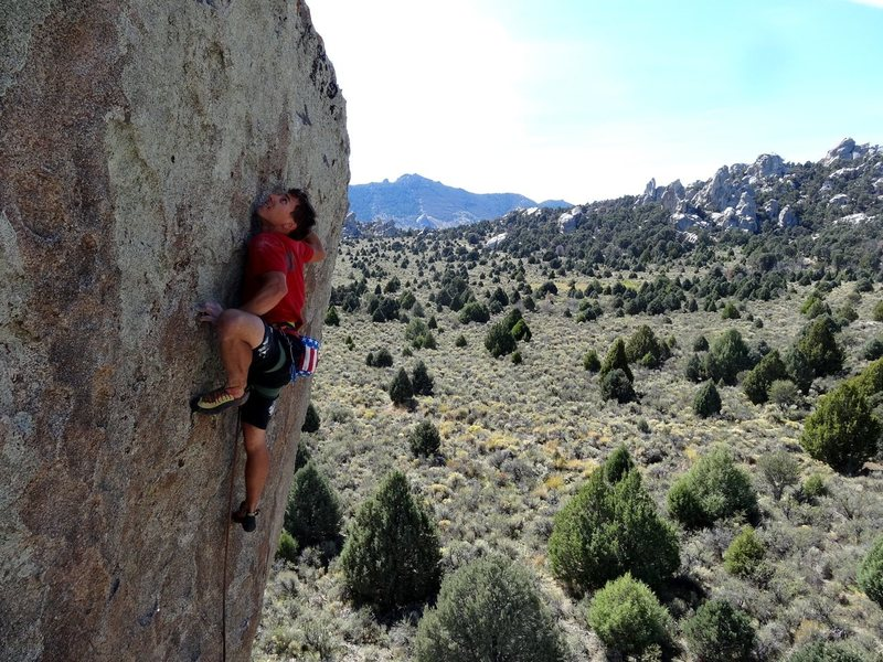 Rock Climbing Photo: Ian Cavanaugh photo