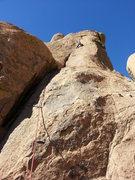 Rock Climbing Photo: 4th Pitch.