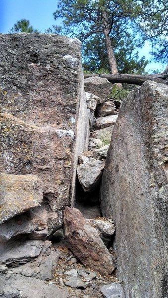 Rock Climbing Photo: Off-kilter