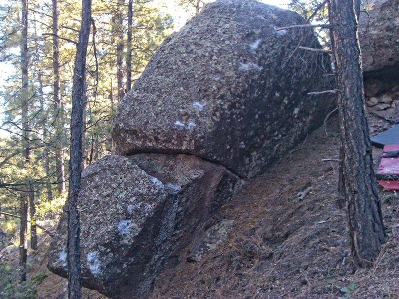 Rock Climbing Photo: Back Scratcher