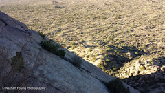 Rock Climbing Photo: A three climber party on the chute.  Another guy s...