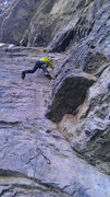 Rock Climbing Photo: Climbing cup cake corner in vail