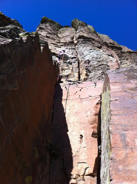 Rock Climbing Photo: View from the base