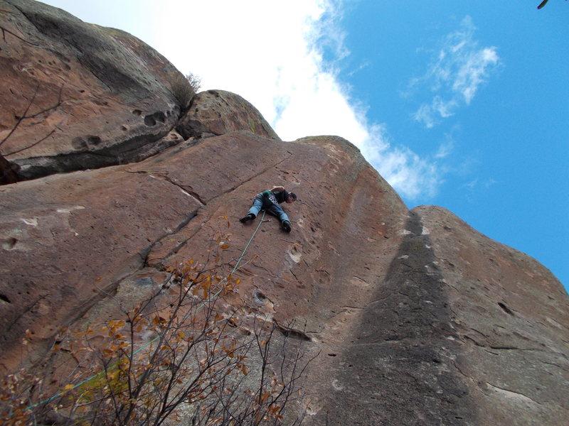 Rock Climbing Photo: Forbidden Fruit - Penitente Canyon, CO.