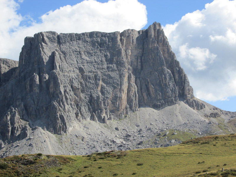 Rock Climbing Photo: Lastoi di Formin, from near passo Giau.