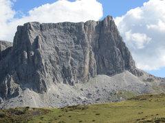 Rock Climbing Photo: Lastoi di Formin, from near passo Giau.