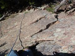 Rock Climbing Photo: The lower half.