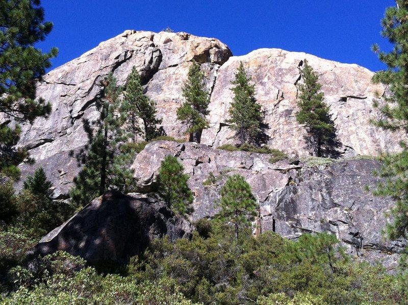 Rock Climbing Photo: boy scout wall, bowman valley, ca.