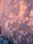 Rock Climbing Photo: Ocean ten bolts in on Salted Wounds.
