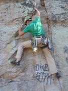 Rock Climbing Photo: Token Crack (October 2013)