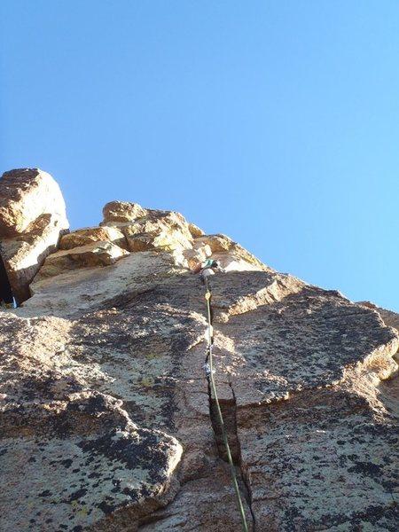 Rock Climbing Photo: Token Crack (October 2013)
