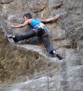 Rock Climbing Photo: Working the rest on Power