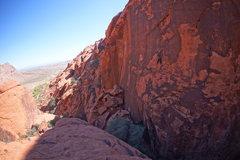 Rock Climbing Photo: SALT, Calico Basin, NV.
