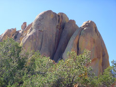 Rock Climbing Photo: A view of the route.  The beginning and end are no...