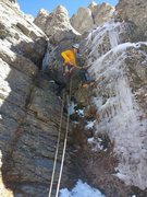 Rock Climbing Photo: Warm fall day oct 6th 2013 About 10,000 ft?