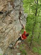 Rock Climbing Photo: talking headwall