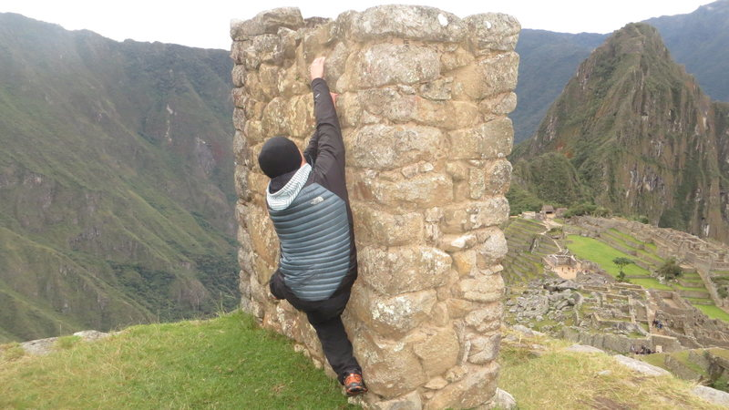 Rock Climbing Photo: Bouldering in Manchu Picchu