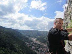 Rock Climbing Photo: Sport climbing in Romania