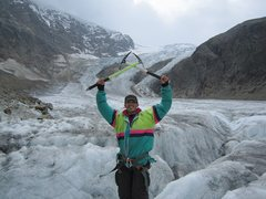 Rock Climbing Photo: Ice climbing in Swizterland