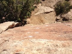 Rock Climbing Photo: Top down view of Bubblicious.