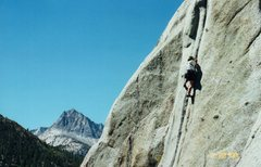 Rock Climbing Photo: Donette Swain on the FA of Rose Gardening (aka Bla...