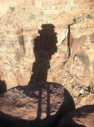 Rock Climbing Photo: Shadows from Psychopath