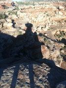 Rock Climbing Photo: Shadows off Putterman's